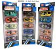 Alloy race car 5pcs