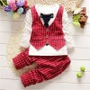 Baby Dress With Red Cote