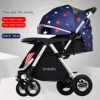 Baby Stroller,Two-way All Awning,Rubber wheel (JRTBJC208-PU)