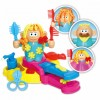 Children Hairdresser Color Clay Series Play Dough Set