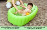 inflatable baby bath tab