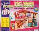"""""""Kids My Deluxe Doll House 50 Piece Play Set """""""